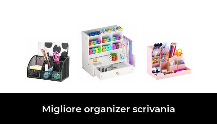 Organizzatore per Cassetti in Feltro,Set di 8 Divisori per Cassetti Versatili,Cassetti Organizzatore Componibile,Organizzatore Porta Oggetti in Feltro,Organizer da Scrivania blue